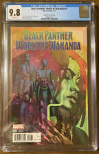 BLACK PANTHER WORLD OF WAKANDA #1 CGC 9.8 1:25 BRIAN STELFREEZE VARIANT COVER