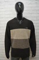 LEVI'S Maglione Uomo Taglia XL Slim Sweater Cardigan Lana Pullover Felpa