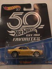 Hot Wheels FAVORITES, '69 CAMARO, Real Riders 50th Anniversary VHTF