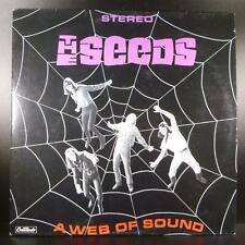 "THE SEEDS A Web of Sound -- 12"" LP Vinyl VG+ SIMPLY VINYL S125016"