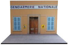 Diorama Gendarmerie Nationale Style Saint-Tropez - 1/18ème - #18-2-F-F-034