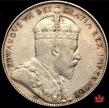 1907 Canada 50 Cents - VF/EF - Lot#1335P