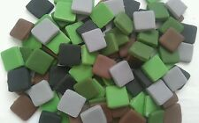 100 pixels squares ,minecraft birthday sugar cake,cupcake topper decorations.