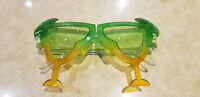 FUNNY GLASSES  HAWAIIAN COCKTAIL GLASSES SUNGLASSES - AUSTRALIAN DAY -PARTY