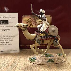Britains: Boxed Set 27017 - Mahdist On Camel, Sudan Campaign. 54mm MIB