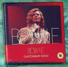 Sealed Rock 2 CD + DVD Box Set: David Bowie - Glastonbury 2000 - Parlophone