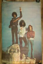 """The Jimi Hendrix Experience Poster Vintage 1969 Visual Thing Inc 35"""" x 23"""" Peace"""