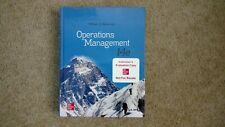 Operations Management, Hardcover by Stevenson, William J, New, Free Shipping