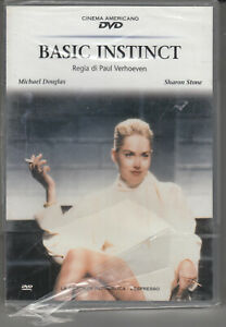 Basic instinct DVD in italiano con Michael Dauglas e Sharon Stone