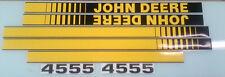 John Deere 4555 Hood Decals
