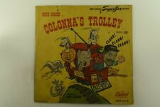 Jerry Colonna - Capitol Sleeve w/ Comic 78RPM - Here Comes Colonna's Trolley Z9