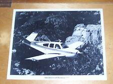 BEECHCRAFT BONANZA V35B AIRCRAFT ORIGINAL PRESS PHOTOGRAPH 1983 N6035U