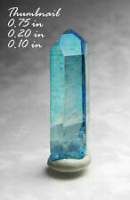 Aqua Aura Quartz Near Littlerock+ Arkansas MINERALS CRYSTALS GEMS-MIN