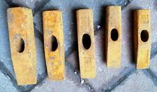 5 alte Hammer Köpfe metall