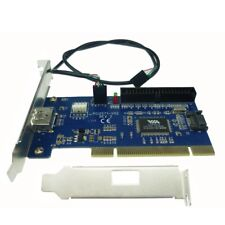 eSATA+USB Combo port PCI card internal SATA+IDE hybrid card RAID