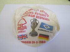 1980 Nottingham Forest European Cup Hat