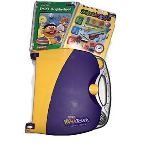 Fisher Price Power Touch Learning System! Working! W 2 Starter books