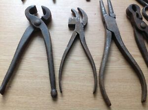 VINTAGE MECHANICS PLIERS GRIPS WRENCHES TOOLS