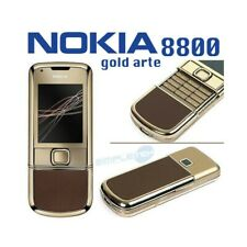 Phone Mobile Phone Nokia 8800 Gold Art Brown Luxury Gold 24K Umts Oled