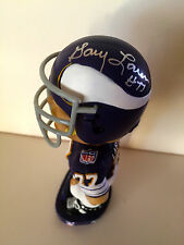 Gary Larsen, MN Vikings NFL Legend SIGNED Bobblehead W/COA