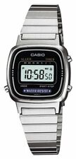 CASIO Standard LA-670WA-1JF Silver Ladies Watch  Japan