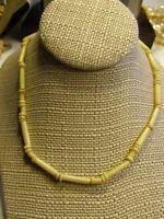 """A. F. Abercombie & Finch Est 1892 Vtg 70s HIPPIE BOHO Southwest Necklace 18"""""""