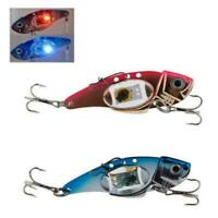 Fishing LED Light Lure Flashing Lamp Bait Tackle Hooks Fishing Deepwater Ou L4K3