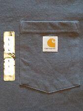 CARHARTT Original Fit SS T-Shirt - gray - Mens sz L - NWT