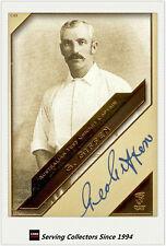 2011 Heritage Test Cricket Captains Blue Facsimile Signature #8: George Giffen
