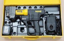 Rems ax Press 40 Li-ion nº 573060 bateria axialpresse druckhülsen quetschhülsen