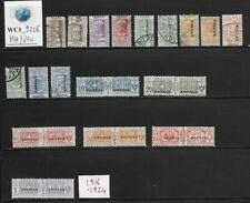 WC1_9226. IT. COL.:ERITREA.Useful lot of 1916-24 postage delivery stamps.MH/Used