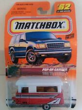 MATCHBOX WHEELS POP UP CAMPER