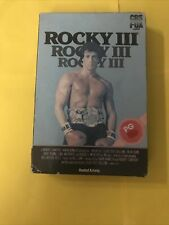 Rocky 3 On VHS