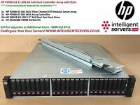 HP P2000 G3 21.6TB 6G SAS Dual Controller Array with Rails AW592A