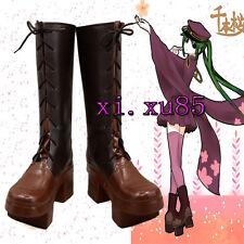 COS Cutomize Vocaloid Miku Senbonzakura Cosplay  Boots Pretty Shoes Any Size