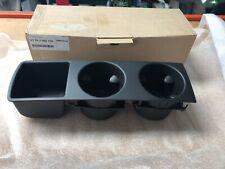 BMW Genuine E83 X3 Drink Holder Front Centre Console Black 51163405730 - NEW