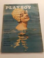 Vintage Playboy Magazine August 1962 Centerfold Intact Jan Roberts