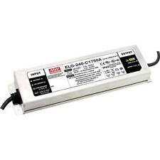 Mean well elg 240 c1400da 3y driver per led corrente costante 239.4 w 1400 ma 86