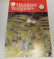 Miniature Wargames Number 37, June 1986 oop SC