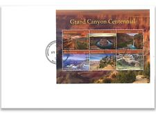 Marshall Islands 2018 Grand Canyon Centennial Sheetlet First Day Cover FDC
