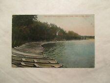Twin Cities Minnesota Navy and casino Como Park MN Postcard