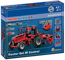 Fischertechnik Tractor Set IR Control NEU Fischer Technik Baukasten 524325