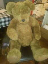 """RETIRED GIANT BROWN BOYDS BEAR 40"""" TALL MINTY CONDITION HUGE GIANT BEAR JOINTED"""