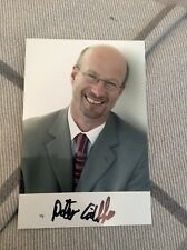 PETER GIBBS (BBC WEATHER) SIGNED PHOTO
