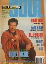 Lionel Richie Blues & Soul 1992  Diana Ross  Billie Holiday Gang Starr Lou Rawls