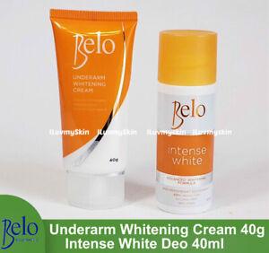 Belo Intense White Deodorant 40mL or Underarm Whitening Cream 40g