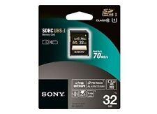 Sony Memory Cards for Cameras