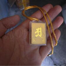 Tibet Tibetan Mikky Tantric Buddhist Shurangama Mantra OM Amulet pendant Gift