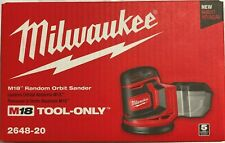 Milwaukee 2648-20 18 volt Cordless Random Orbital Sander bare tool NEW IN BOX