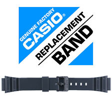 Casio 10393907 Genuine Factory Resin Band, Fits MRW-200H-1B2V and others